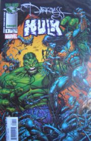 The Darkness Incredible Hulk #1 Dynamic Forces Signed Paul Jenkins COA Ltd 199 DF